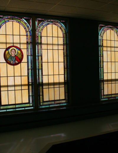 New Stained Glass Work