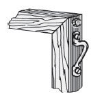 Wood Frames/Boxes/Framing Accessories/Bumpers/Easelbacks